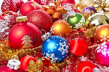 Stok fotoğraf: Noel · ağaç · arka · plan · star · kırmızı