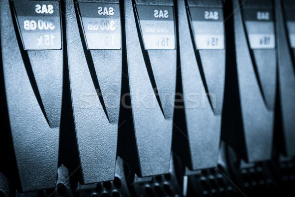 Data center komputera Internetu technologii serwera Zdjęcia stock © kubais