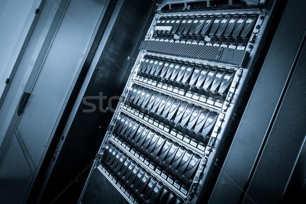 データセンター クローズアップ コンピュータ インターネット 技術 サーバー ストックフォト © kubais