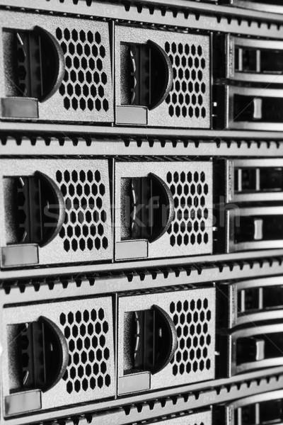 центр обработки данных аппаратных интернет комнату компьютер аннотация Сток-фото © kubais