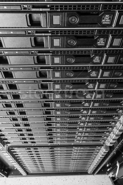 Stok fotoğraf: Veri · merkezi · donanım · Internet · oda · kapı · Sunucu