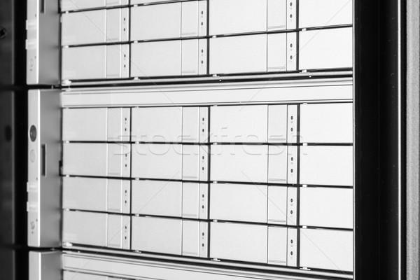 Adatközpont hardver internet szoba ajtó szerver Stock fotó © kubais
