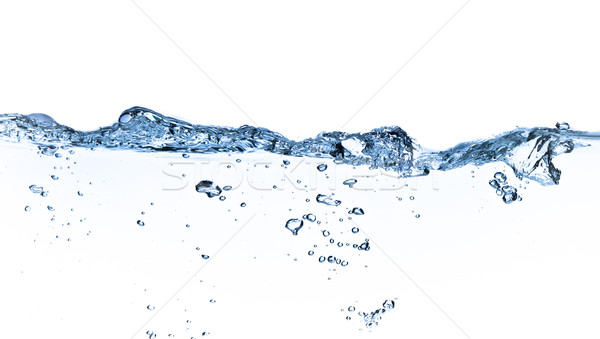 água bubbles tiro branco saúde Foto stock © kubais