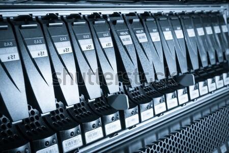 データセンター クローズアップ インターネット 技術 サーバー ネットワーク ストックフォト © kubais