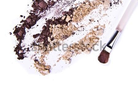 Szemhéjfesték izolált fehér textúra szem modell Stock fotó © kubais