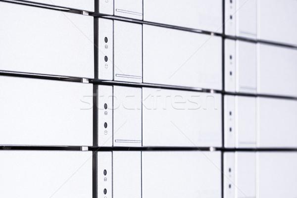 Rechenzentrum Hardware Internet Zimmer abstrakten Tür Stock foto © kubais