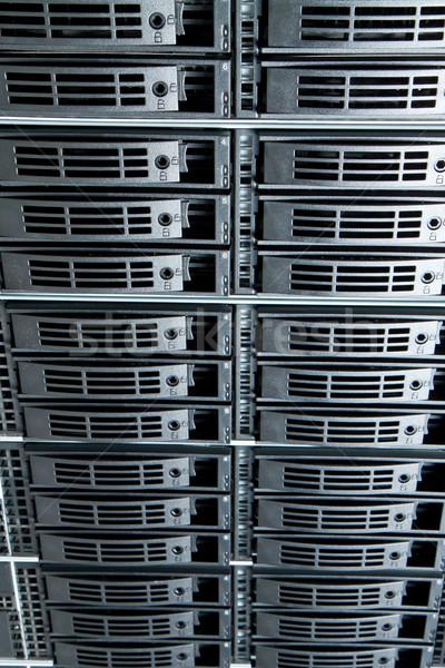 Veri merkezi Sunucu ağ web iletişim hizmet Stok fotoğraf © kubais