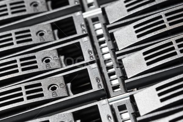 центр обработки данных технологий сервер сеть комнату Сток-фото © kubais
