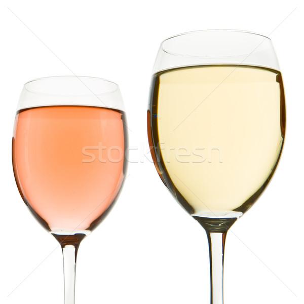 two wine glasses Stock photo © kubais