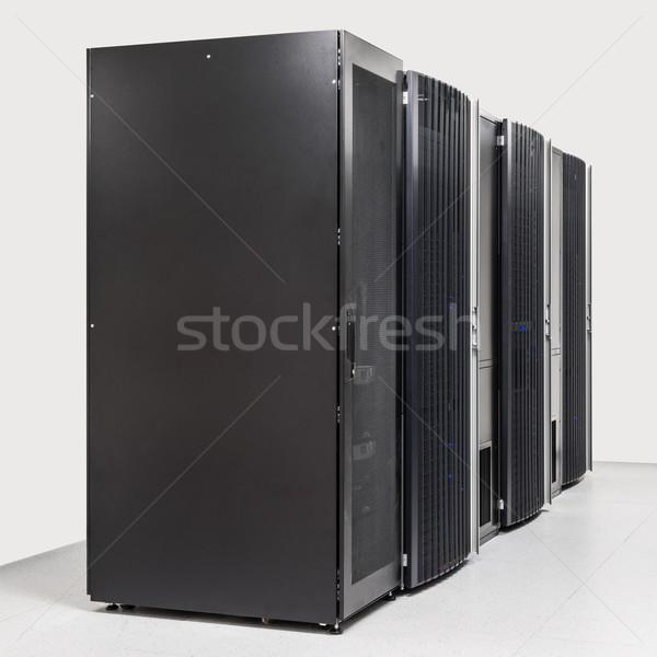 Ağ Sunucu oda bilgisayar Internet güvenlik Stok fotoğraf © kubais
