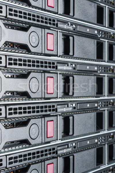 Veri merkezi donanım Internet oda bilgisayar soyut Stok fotoğraf © kubais