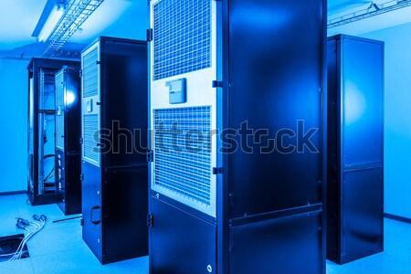сеть сервер комнату бизнеса интернет безопасности Сток-фото © kubais