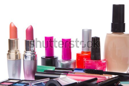 set of cosmetic products Stock photo © kubais