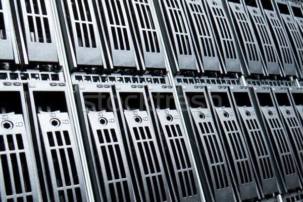 Adatközpont szerver hálózat háló kommunikáció szolgáltatás Stock fotó © kubais