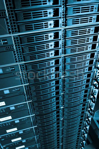 データセンター サーバー ネットワーク ウェブ 通信 サービス ストックフォト © kubais