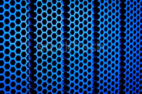 Abstract metalen grid metaal computer technologie Stockfoto © kubais