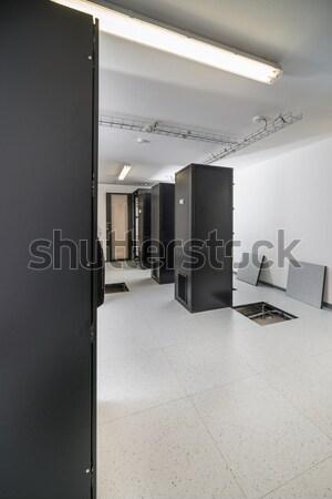 Servidor quarto construção segurança rede Foto stock © kubais