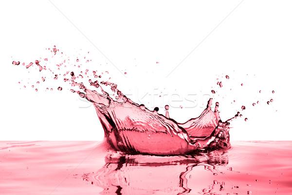 Wino czerwone biały wina streszczenie tle Zdjęcia stock © kubais