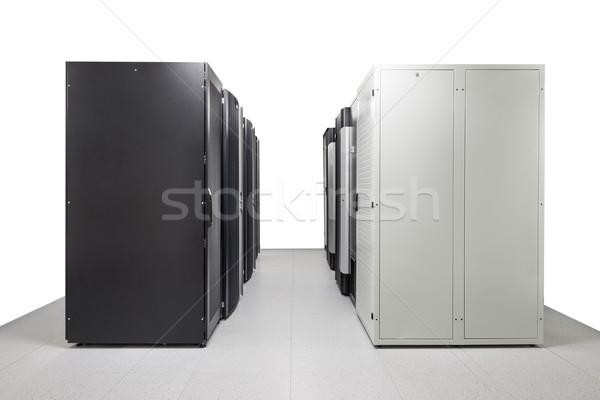Hálózat szerver szoba üzlet számítógép internet Stock fotó © kubais