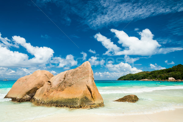 Stock photo: Anse Lazio beach, Praslin island, Seychelles