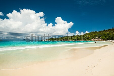 Anse Lazio beach, Praslin island, Seychelles Stock photo © kubais