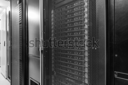 центр обработки данных хранения интернет комнату технологий двери Сток-фото © kubais