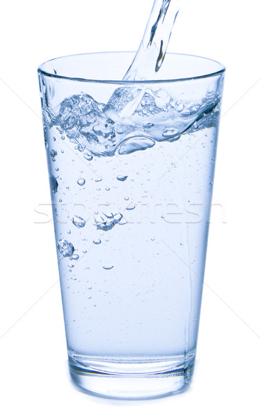 pouring water into glass Stock photo © kubais