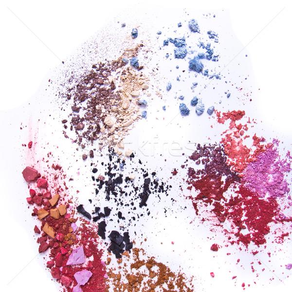 crushed eyeshadow Stock photo © kubais