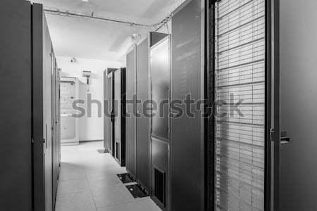 Hálózat szerver szoba számítógép internet biztonság Stock fotó © kubais