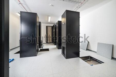 Sunucu oda veri merkezi güvenlik ağ iletişim Stok fotoğraf © kubais