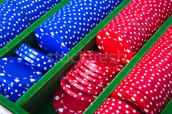 poker chips  Stock photo © kubais