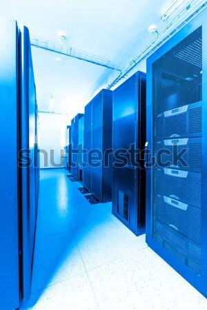 Rete server stanza business computer internet Foto d'archivio © kubais