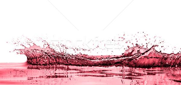 белый вино аннотация фон Сток-фото © kubais