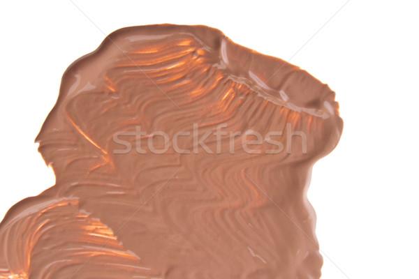 Maquillaje base aislado blanco cara fondo Foto stock © kubais