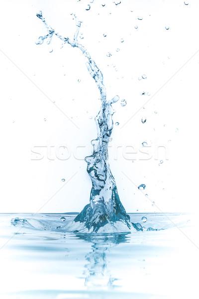 Odizolowany biały tle pić prędkości Zdjęcia stock © kubais
