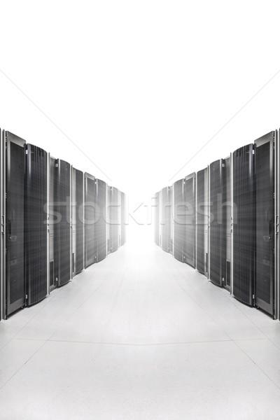 Red servidor habitación fuerte luz Foto stock © kubais