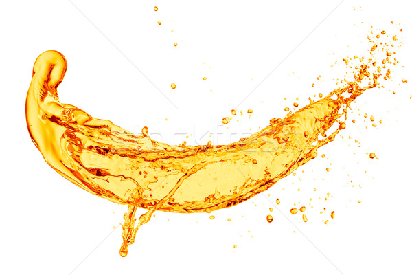 апельсиновый сок всплеск белый продовольствие фрукты оранжевый Сток-фото © kubais