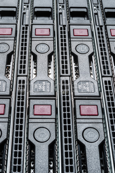 データセンター ハードウェア インターネット ルーム 抽象的な ドア ストックフォト © kubais