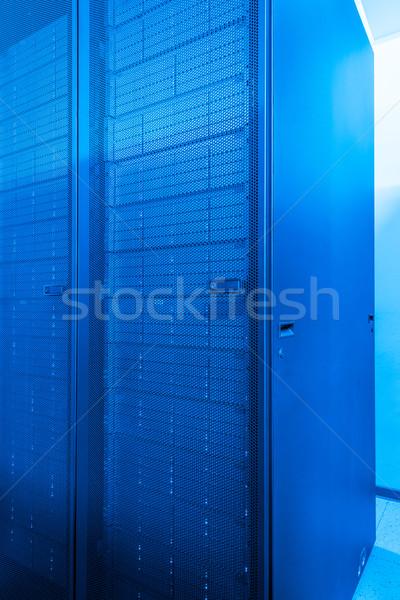 Stock fotó: Hálózat · szerver · szoba · üzlet · számítógép · internet