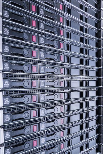 Veri merkezi donanım Internet oda soyut kapı Stok fotoğraf © kubais