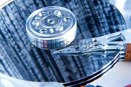 Komputera dysk twardy streszczenie technologii Zdjęcia stock © kubais