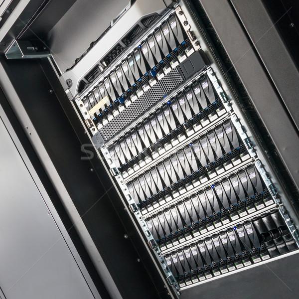 Veri merkezi Internet teknoloji Sunucu ağ Stok fotoğraf © kubais