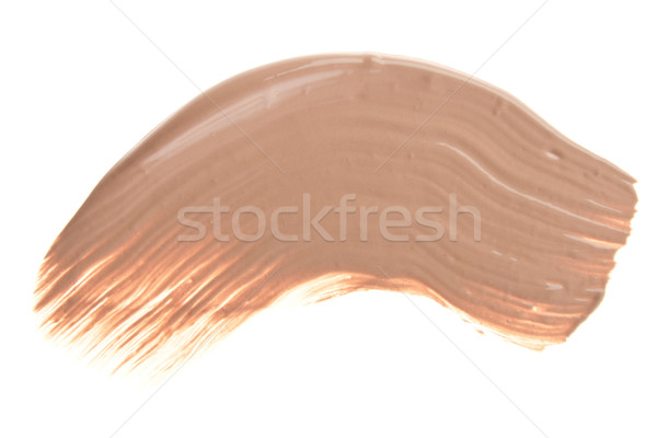 Smink alap mázgás folyadék izolált fehér Stock fotó © kubais