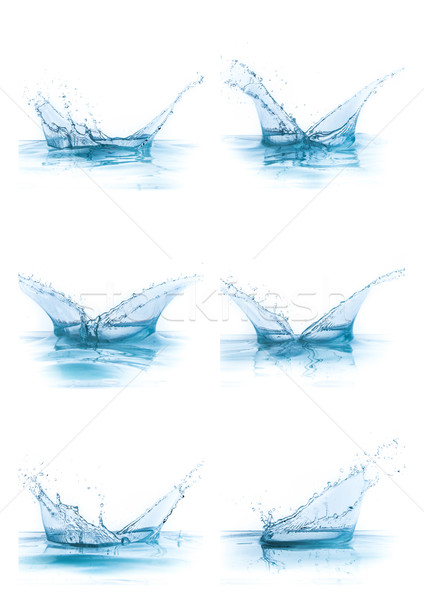 water splash collection Stock photo © kubais