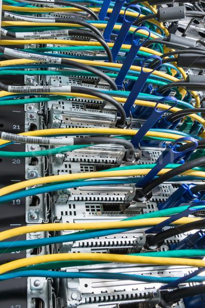 data center closeup Stock photo © kubais