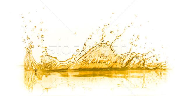 апельсиновый сок всплеск изолированный белый продовольствие лет Сток-фото © kubais