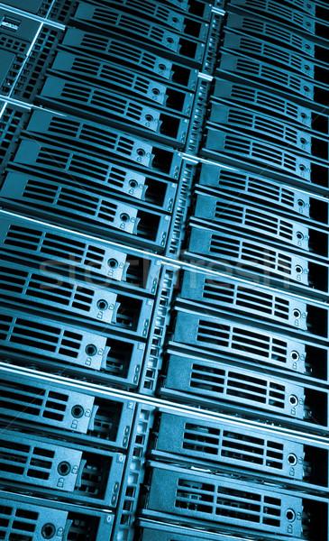 Rechenzentrum Server Netzwerk Web Kommunikation Service Stock foto © kubais