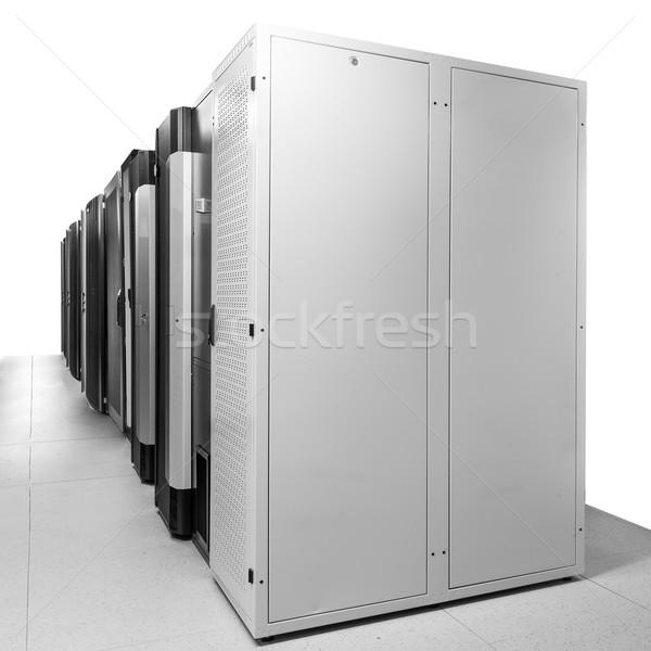 Ağ Sunucu oda iş bilgisayar Internet Stok fotoğraf © kubais