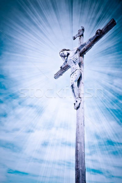 the crucifixion Stock photo © kubais
