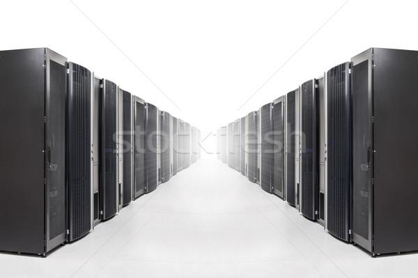 Hálózat szerver szoba csetepaté erős fény Stock fotó © kubais